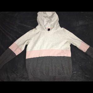 Zumiez sweatshirt multi color block